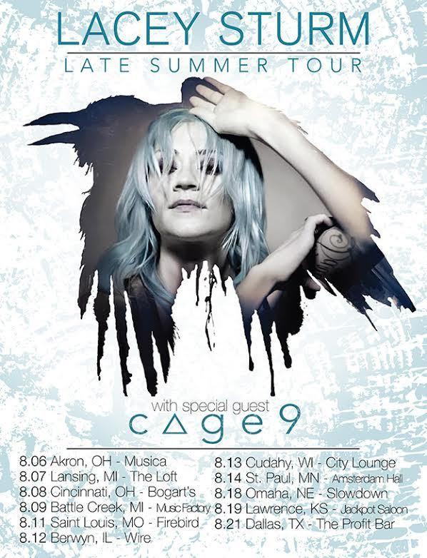 CAGE9-tour