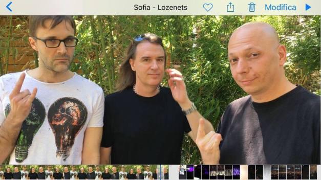 David Ellefson announcing the partnership with Alex Azzali and Roberto Risso