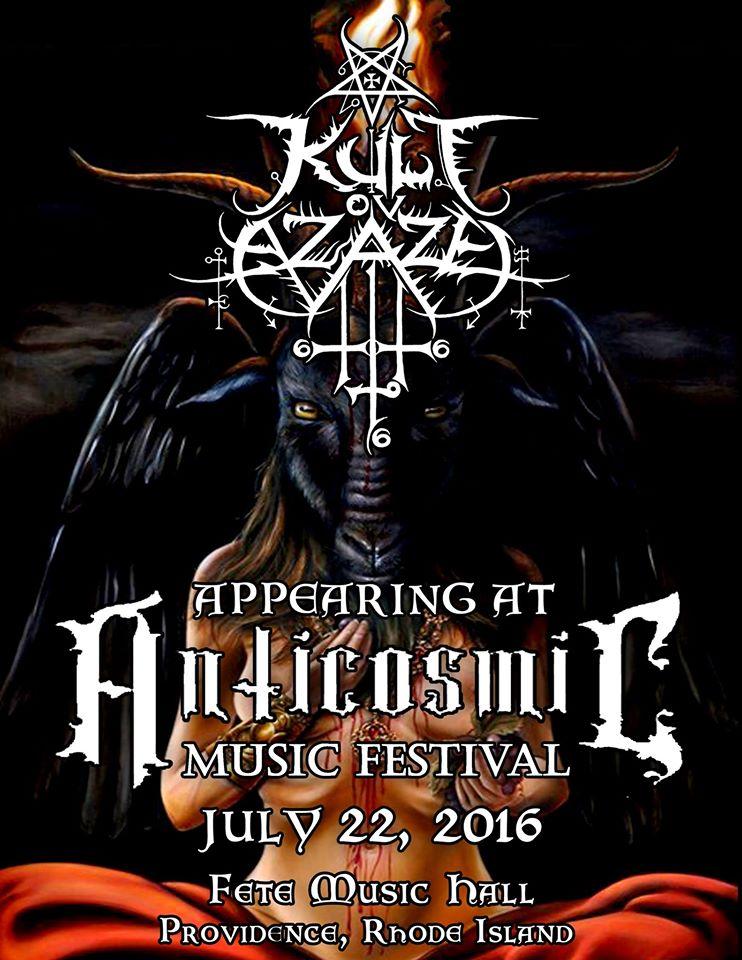 KULT OV AZAZEL Announce Next Festivals | Metal Shock Finland