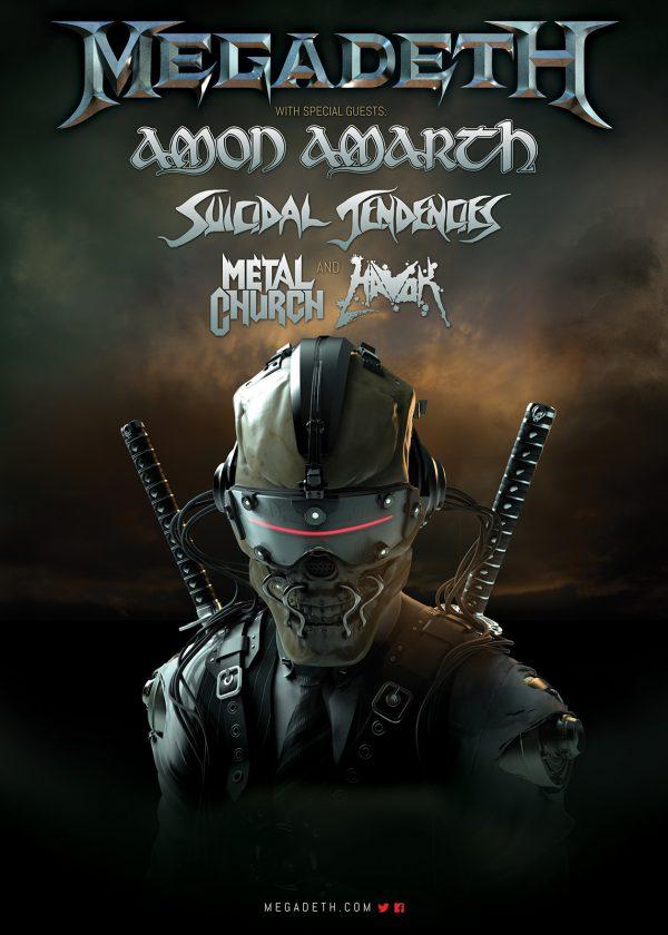 Megadeth-NA2016