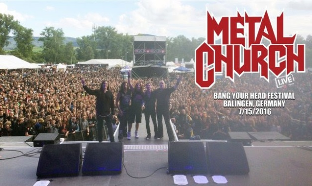 Metal Church July 2016
