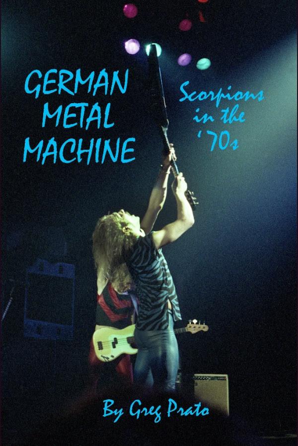 Scorpions German Metal Machine Book 2016