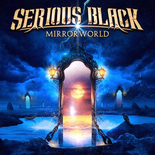 Serious Black Mirrorworld Cover Art