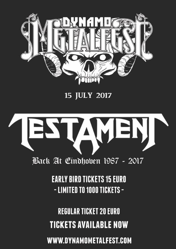Testament Dynamo Metal Fest 2017