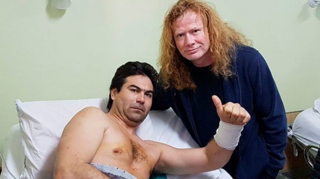 Dave Mustaine and Fan 2016