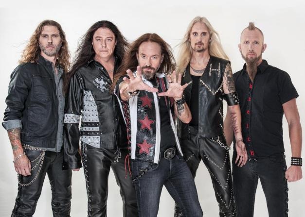 Hammerfall Band 2016