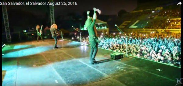 Megadeth-ElSalvador