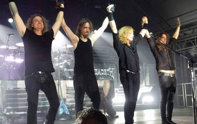 Megadeth Dystopia World Tour - in Munic