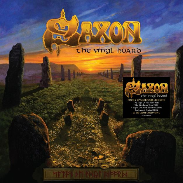 Saxon The Vinyl Hoard Cover Art