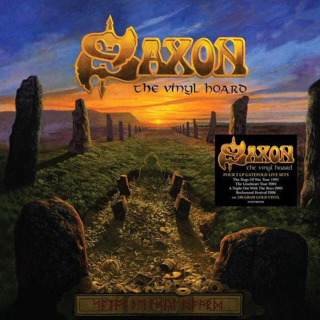 Saxon The Vinyl Hoard Cover Art