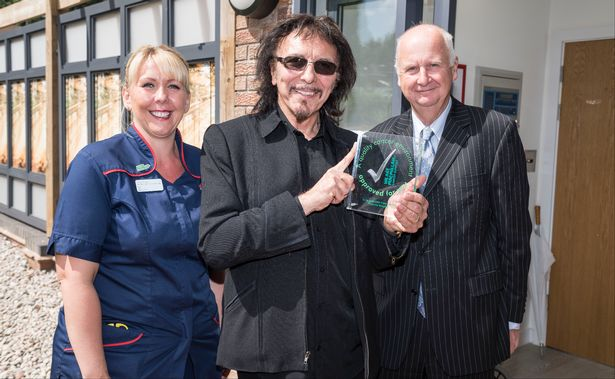 Tony Iommi Macmillan Quality Care
