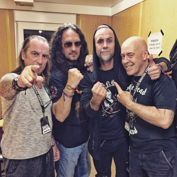 Venom Inc. with Behemoth's Nergal - Brutal Assault backstage