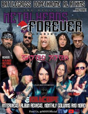 Twisted Sister Christmas.Metalheads Forever December Issue Now Online Feat