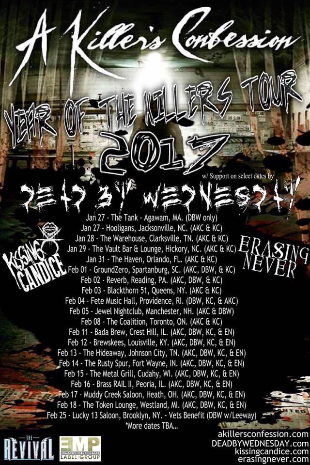 Confession Tour Dates