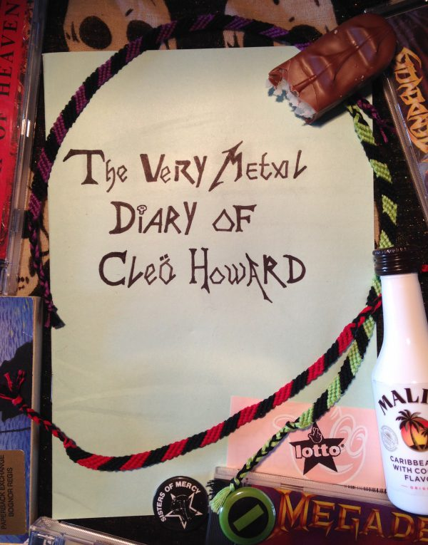 sarahtipper-very-metal-diary-of-cleo-howard-cover-image