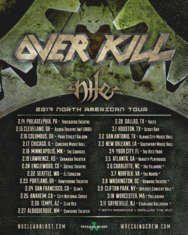 overkill-north-american-tour-dates-2017