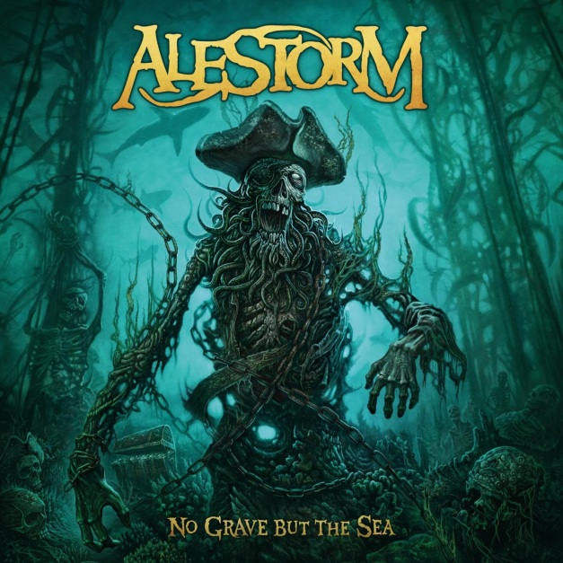 Alestorm No Grave But The Sea Cover Art