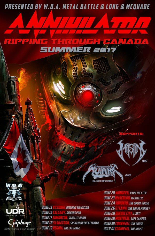 annihilator-canada-tour