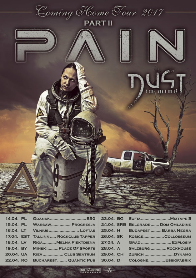 PAIN Coming Home Tour Pt II