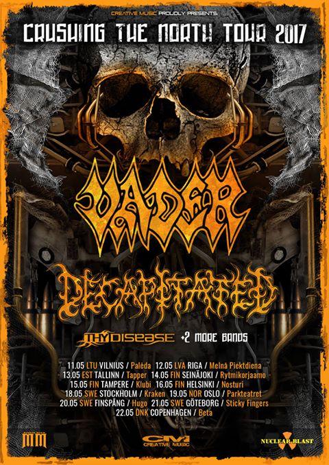 Vader-Scandinavian-tour