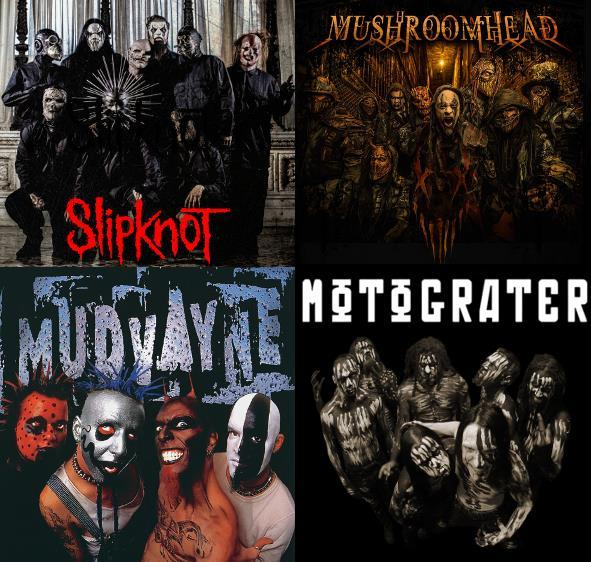 FUN FACTS ABOUT SLIPKNOT MUDVAYNE MUSHROOMHEAD AND MOTOGRATER - 2