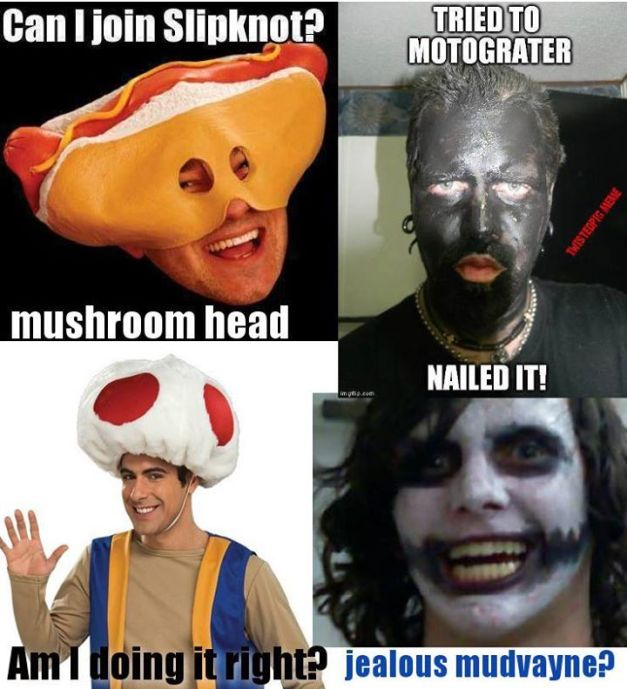FUN FACTS ABOUT SLIPKNOT MUDVAYNE MUSHROOMHEAD AND MOTOGRATER - 4