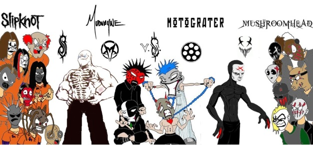 FUN FACTS ABOUT SLIPKNOT MUDVAYNE MUSHROOMHEAD AND MOTOGRATER