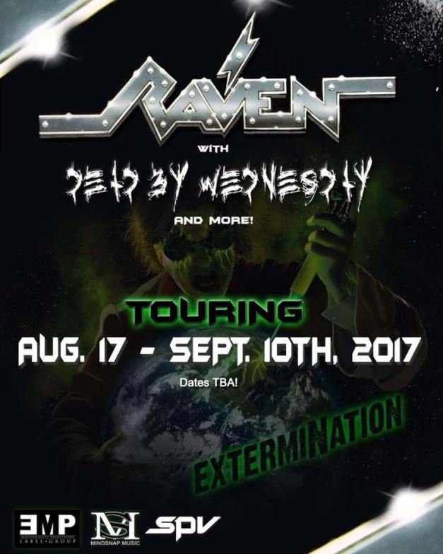 Raven-DeadByWednesday-tour
