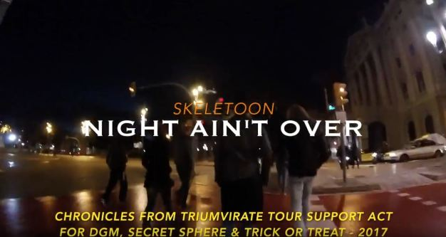 Skeletoon-night-aint-over-video