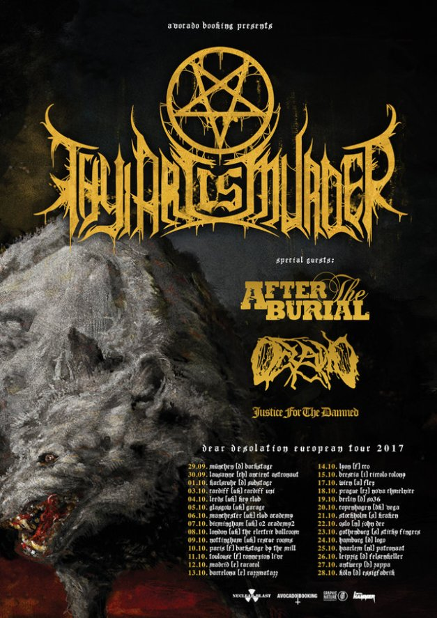 thyartismurder-aftertheburial.2017tour