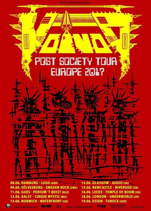 Voivod-Euro-tour