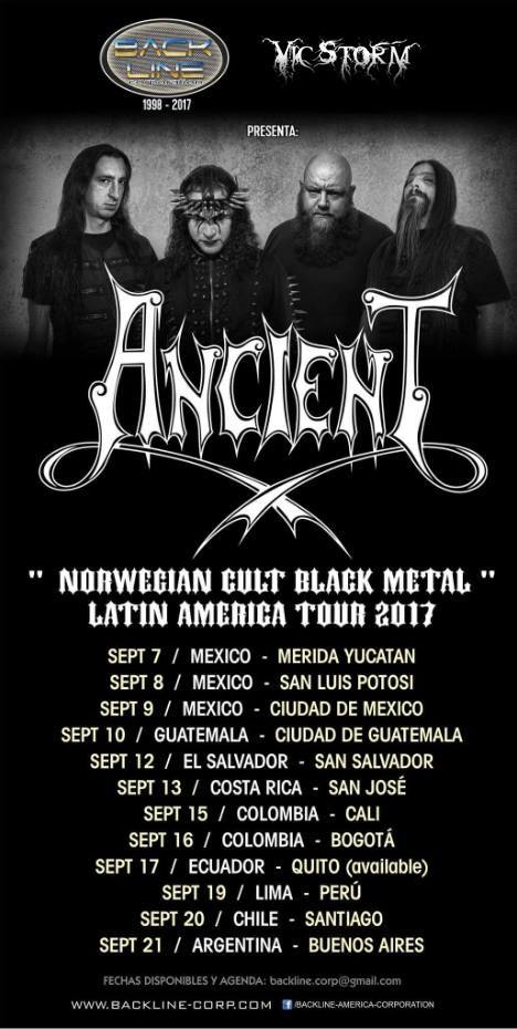 ANCIENT-LatinAmericanTour