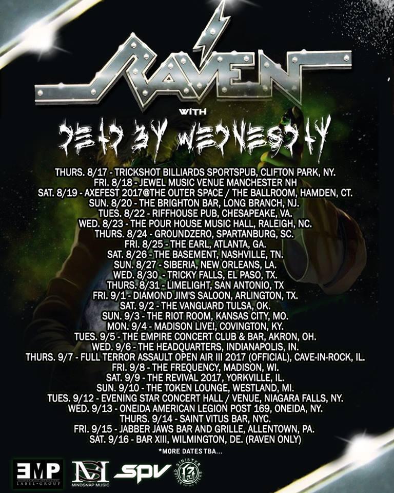 Raven-DeadByWednesday-tour-updated-2