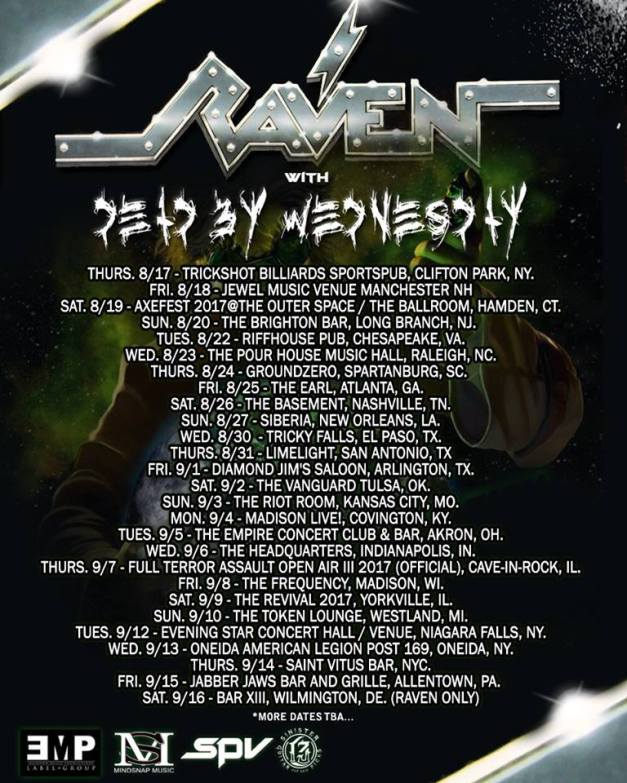 Raven-DeadByWednesday-tour-updated-2
