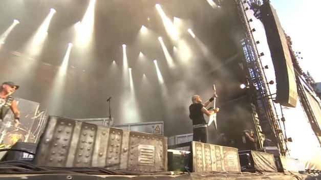 Accept Wolf Wacken Stage Shot