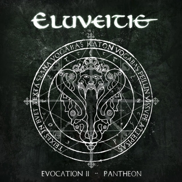 ELUVEITIE Evocation II - Pantheon Cover Art