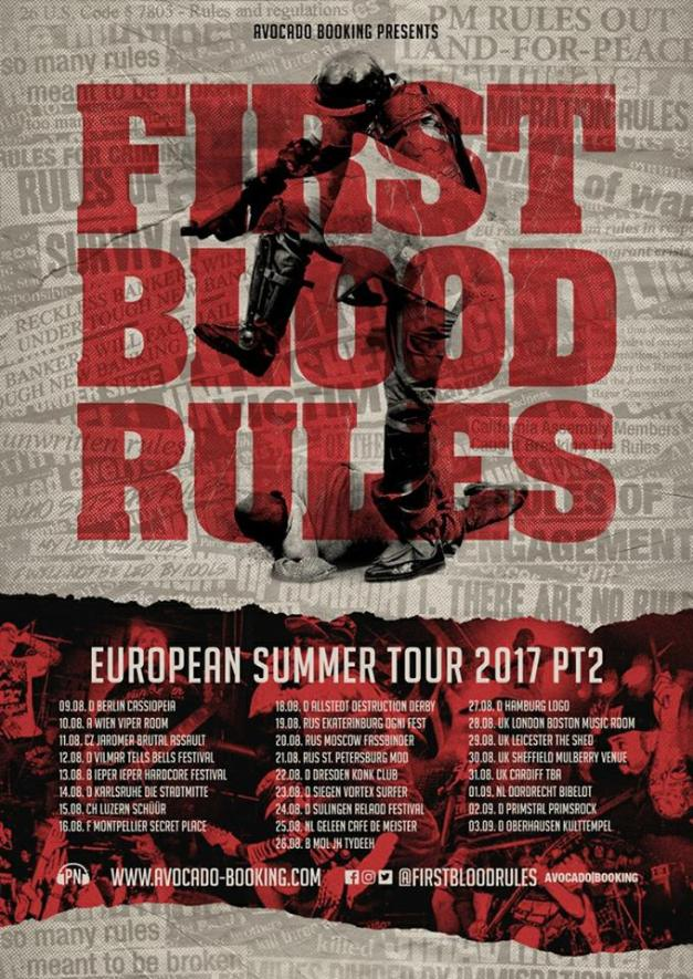 First Blood Tour 2017