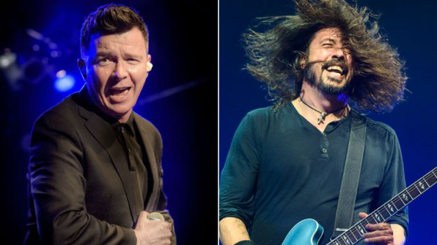 Foo Fighters Rick Astley