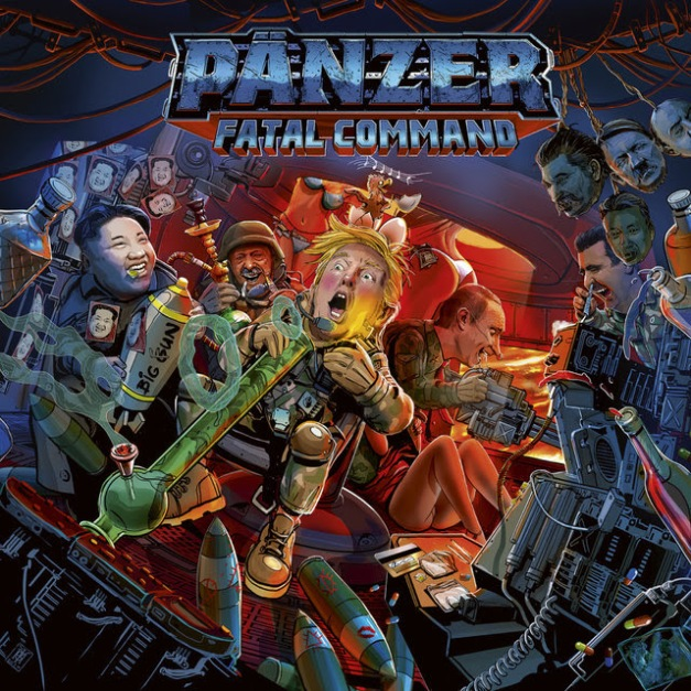 Panzer Fatal Command Cover Art