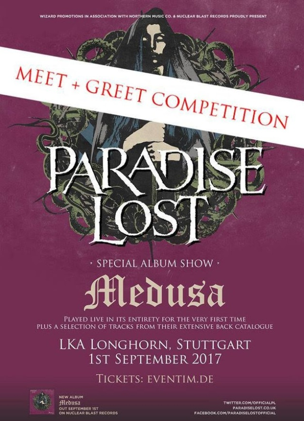 Paradise Lost Meet and Greet Competition