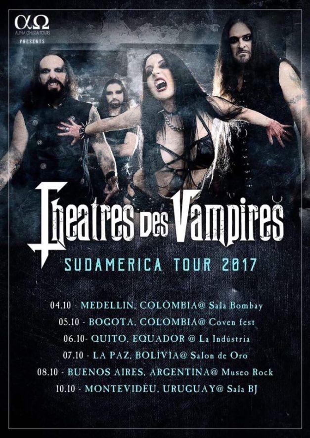 TheatresDesVampires-SouthAmericanTour