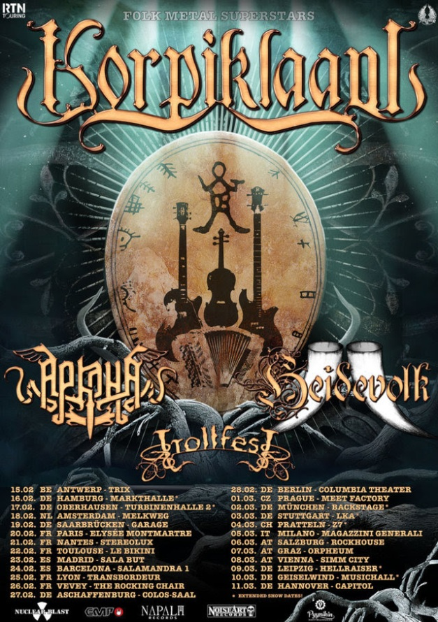 Trollfest European Tour 2018