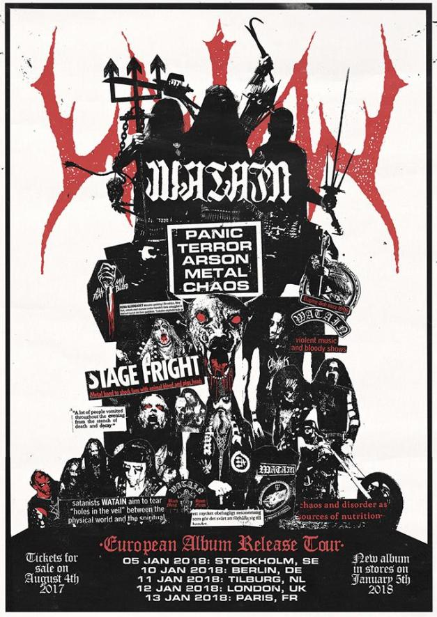 Watain-shows