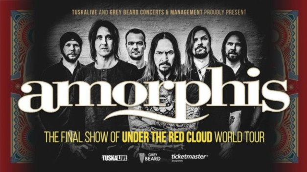 Amorphis Final Show of Under The Red Cloud Tour