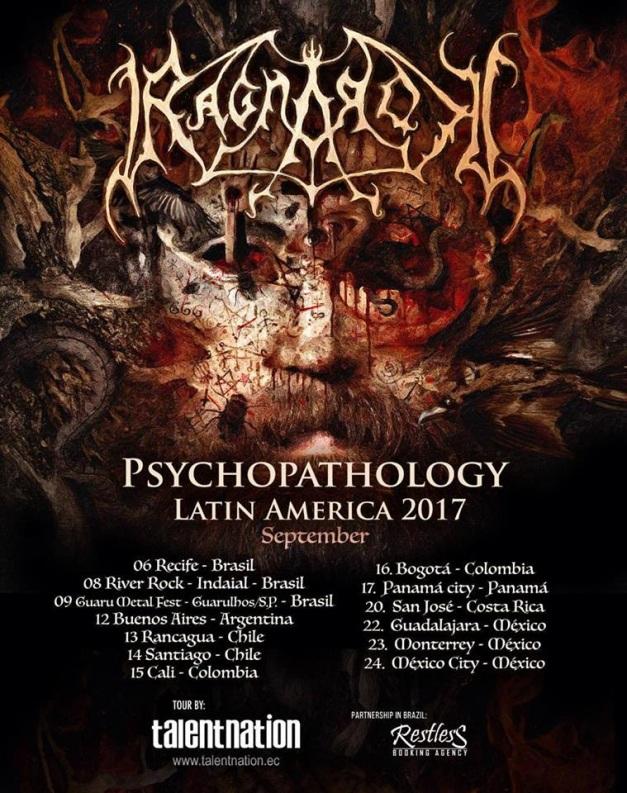 Ragnarok Latin America Tour Dates 2017