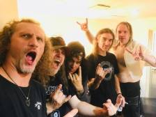 Vader and Kreator in Osaka