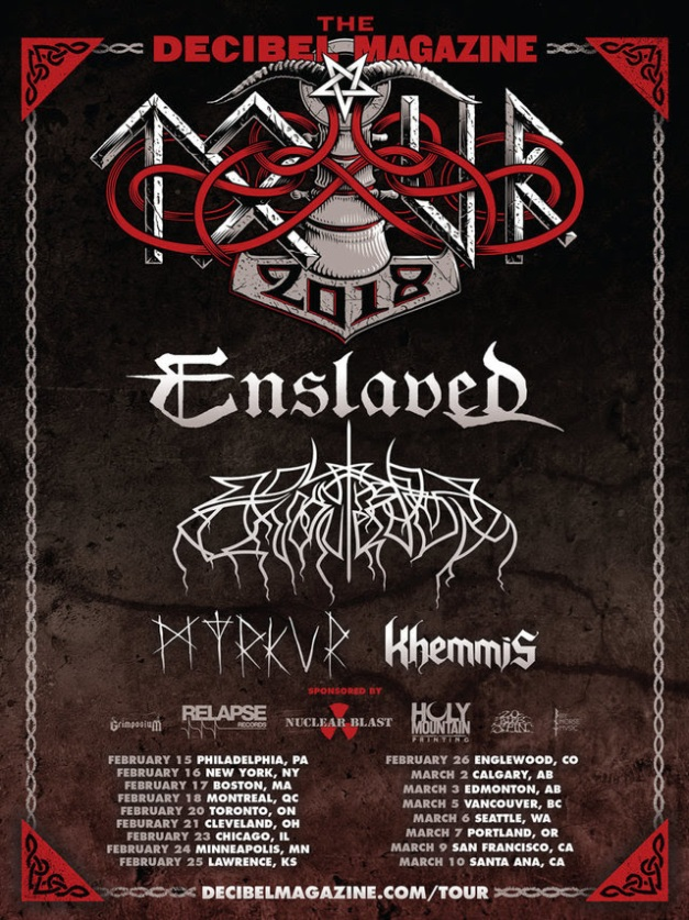 Enslaved US Tour
