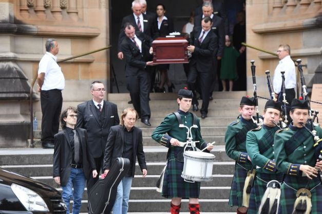 Malcolm Young Funeral 1