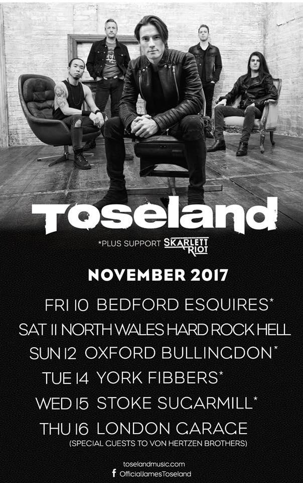 Toseland-tour