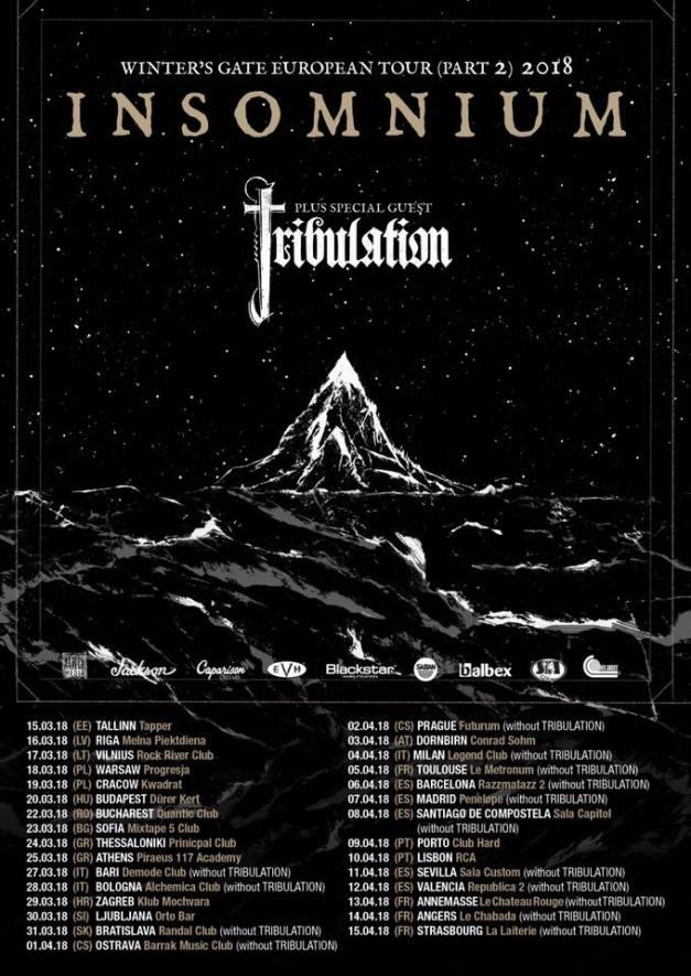 Insomnium-tour